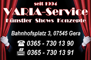 VARIA-Service / Booking Office Künstler & Shows